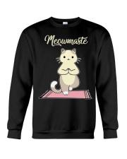 Cat Yoga Crewneck Sweatshirt thumbnail