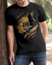 Guitar Electric Inside Classic T-Shirt apparel-classic-tshirt-lifestyle-front-51