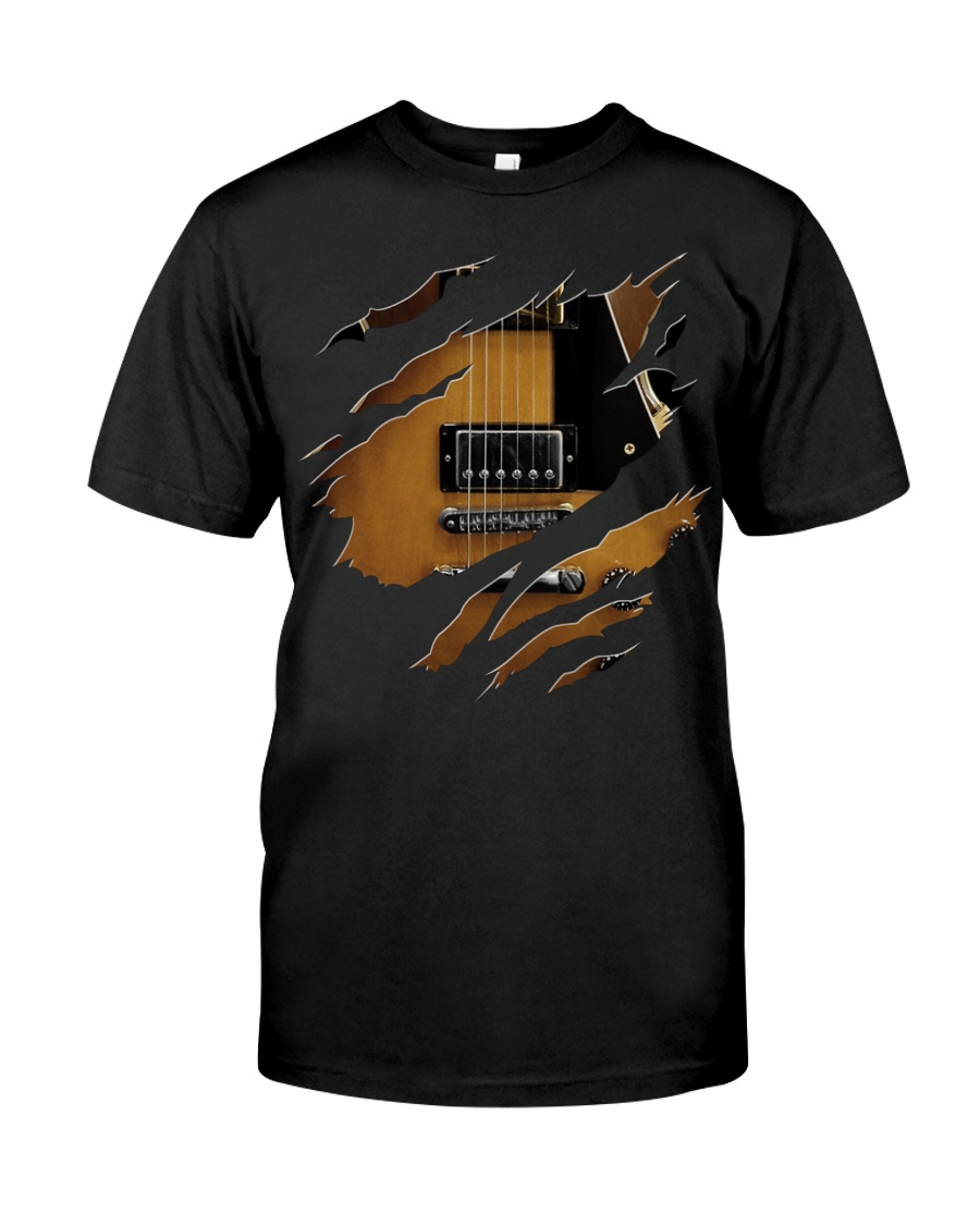 Guitar Electric Inside Classic T-Shirt