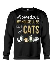 Cat Full Of Crewneck Sweatshirt thumbnail