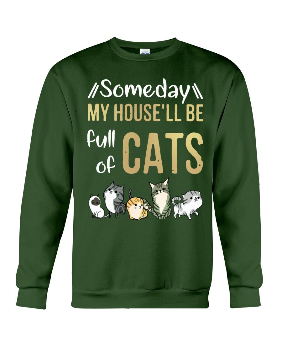 Cat Full Of Crewneck Sweatshirt