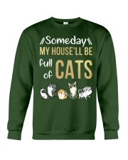 Cat Full Of Crewneck Sweatshirt front