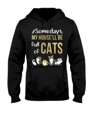 Cat Full Of Hooded Sweatshirt thumbnail