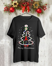 Nurse Christmas Classic T-Shirt lifestyle-holiday-crewneck-front-2