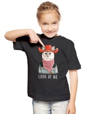 Cat Look Youth T-Shirt lifestyle-youth-tshirt-front-2