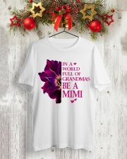 Gift for Mimi Classic T-Shirt lifestyle-holiday-crewneck-front-2