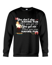 TShopx Funny Quotes Shirt Plus Size Unisex Crewneck Sweatshirt thumbnail