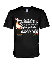 TShopx Funny Quotes Shirt Plus Size Unisex V-Neck T-Shirt thumbnail