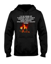 Music Friend Beer Hooded Sweatshirt thumbnail