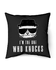 "TShopx I'm the one Who Knocks Indoor Pillow - 16"" x 16"" thumbnail"