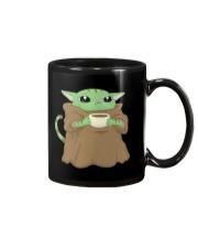 Baby Yoda Cat Mug thumbnail