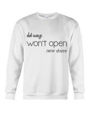 Life Quotes Crewneck Sweatshirt thumbnail