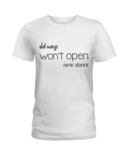 Life Quotes Ladies T-Shirt front