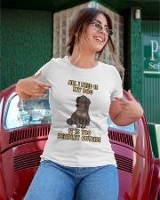 All I need is My Dog Ladies T-Shirt apparel-ladies-t-shirt-lifestyle-01