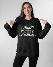 TShopx Meaning Quotes Unisex Crewneck Sweatshirt apparel-crewneck-sweatshirt-lifestyle-front-11