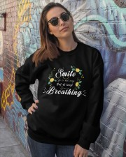 TShopx Meaning Quotes Unisex Crewneck Sweatshirt lifestyle-unisex-sweatshirt-front-3