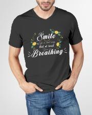 TShopx Meaning Quotes Unisex V-Neck T-Shirt garment-vneck-tshirt-front-lifestyle-01