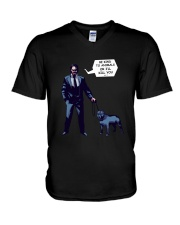 Keanu Reeves V-Neck T-Shirt thumbnail