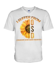 Sunflower V-Neck T-Shirt thumbnail