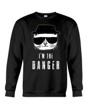 TShopx I'm the danger HeisenCat Crewneck Sweatshirt thumbnail