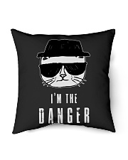 """TShopx I'm the danger HeisenCat Indoor Pillow - 16"""" x 16"""" thumbnail"""