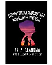 Gift for Grandma and Granddaughter 11x17 Poster thumbnail