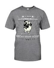 TShopx Cute Pet Unisex Classic T-Shirt front