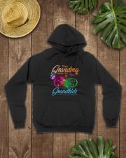 Gift for Grandma Hooded Sweatshirt lifestyle-unisex-hoodie-front-7