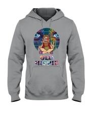 OLD HIPPIE Hooded Sweatshirt front