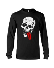 Skeleton with Red Tongue Long Sleeve Tee tile