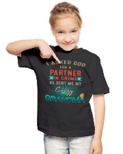 Gift for Granddaughter Youth T-Shirt lifestyle-youth-tshirt-front-2