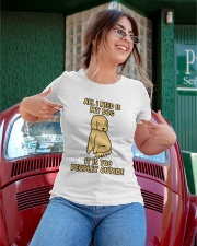 All I need is My Dog Ladies T-Shirt apparel-ladies-t-shirt-lifestyle-01
