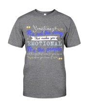 TShopx Meaning Life Quotes Unisex Classic T-Shirt front