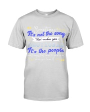 TShopx Meaning Life Quotes Unisex Premium Fit Mens Tee front