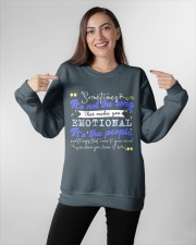TShopx Meaning Life Quotes Unisex Crewneck Sweatshirt apparel-crewneck-sweatshirt-lifestyle-front-11