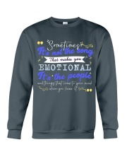 TShopx Meaning Life Quotes Unisex Crewneck Sweatshirt front
