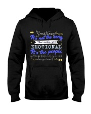 TShopx Meaning Life Quotes Unisex Hooded Sweatshirt front