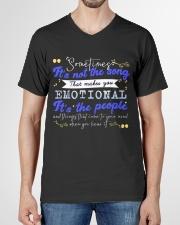 TShopx Meaning Life Quotes Unisex V-Neck T-Shirt garment-vneck-tshirt-front-01