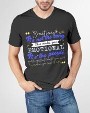 TShopx Meaning Life Quotes Unisex V-Neck T-Shirt garment-vneck-tshirt-front-lifestyle-01