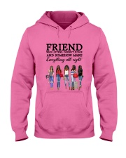 Friend Quote Hooded Sweatshirt thumbnail