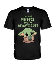 I'm always cute V-Neck T-Shirt thumbnail