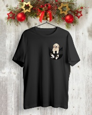 Golden Lover Classic T-Shirt lifestyle-holiday-crewneck-front-2