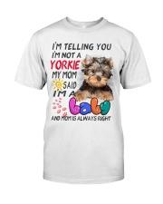 I LOVE YORKIE  Classic T-Shirt thumbnail
