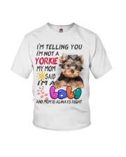 I LOVE YORKIE  Youth T-Shirt tile