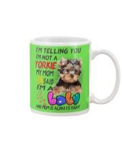 I LOVE YORKIE  Mug front