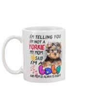 I LOVE YORKIE  Mug back