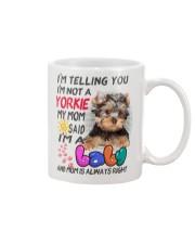 I LOVE YORKIE  Mug thumbnail