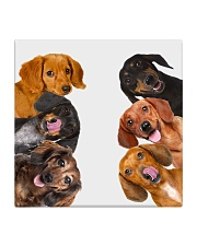 Dachshund Lover Square Coaster thumbnail