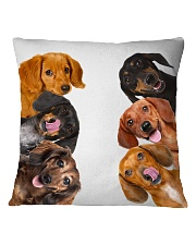 Dachshund Lover Square Pillowcase thumbnail