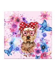Yorkie Lover Square Coaster thumbnail
